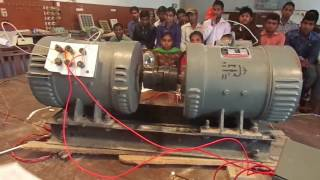 Download EXPERIMENT LIVE SHUNT GENERATOR AND DC MOTOR ELECTRICAL ENGINEERING. Video