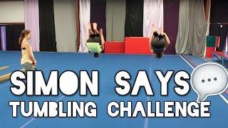 Download Simon Says Tumbling Challenge Video