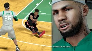 Download NBA 2k17 MyCAREER Playoffs - Heartbreak vs My Old Team! Ankle Breaker on Trash Talker! SFG1 Ep. 96 Video