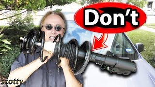 Download Why Not to Buy a Cheap Quick Strut Assembly for Your Car Video