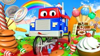 Download xe tải xe đạp - Siêu xe tải Carl 🚚⍟ l những bộ phim hoạt hình về xe tải dành cho thiếu nhi Video