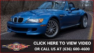 Download 1998 BMW Z3 M Roadster || For Sale Video