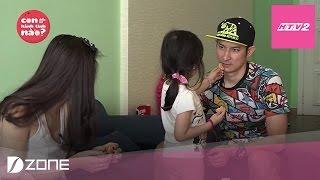Download HTV2 - Bé Cát Cát hài hước ví bố Huy Khánh là ″dì ghẻ″ Video