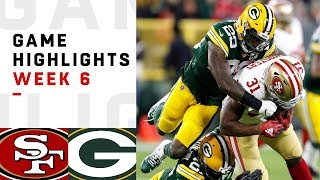 Download 49ers vs. Packers Week 6 Highlights | NFL 2018 Video