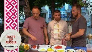 Download Making Greek Salad à la Russe & Stolen Lamb for a 'small' Greek dinner party - Taste of Russia Ep.12 Video