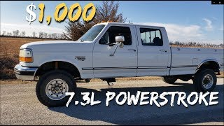 Download $1,000 AUCTION BUY for Ford F350 7.3L Powerstroke 4X4 Video