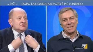 Download Rondolino vs Barbacetto: 'Il Fatto è un giornale di diffamatori' - 'Assolto da tutte le querele' Video