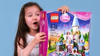 Download 'Out of the Box with Violet': Unboxing the Lego Disney Princess Cinderella's Castle Video