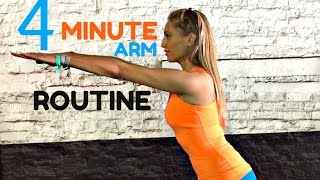 Download Home Workout 4 Minute Toned Arms Workout -💪🏽 Arm exercises for women START NOW Video