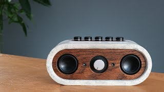 Download Build your own Concrete Bluetooth Speaker (how-to) Video