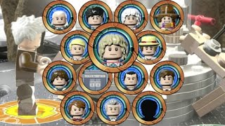 Download LEGO Dimensions - A Look at All 13 Doctors and TARDIS Interiors (Doctor Who Level Pack) Video