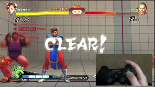 Download Super Street Fighter 4 Chun-Li Trials 1-24 PS3 Controller D-Pad Tutorial Video