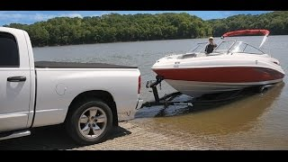 Download How To Launch A Boat By Yourself (Bunk Trailer) Video