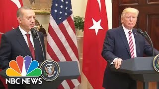 Download President Donald Trump On Intel Question: 'We Had A Great Meeting' With Russia's Lavrov | NBC News Video