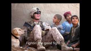 Download Brantley Gilbert - One Hell of an Amen (with lyrics) Military tribute Video