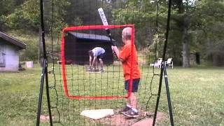 Download 4 year old baseball player hits G-Bombs Video