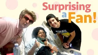 Download SURPRISING A FAN IN THE HOSPITAL!! Video