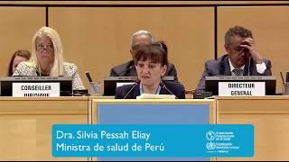 Download Dr. Silvia Pessah Eljay, Ministra de Salud de Perú Video