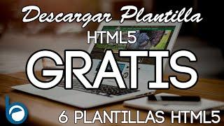 Download PLANTILLAS HTML5 GRATIS para Descargar y editar Video