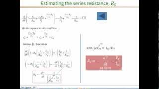 Download PV model parameter extraction part2 Rsh Rs Video