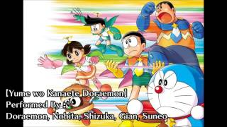 Download Yume wo Kanaete Doraemon (Characters' Version) - Doraemon Opening Song Video