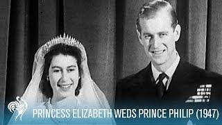 Download A Royal Wedding: Princess Elizabeth Weds Philip (1947) | British Pathé Video