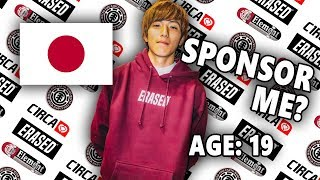 Download SPONSORING ONE OF JAPANS BEST SKATERS Video