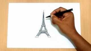 Download How to Draw the Eiffel Tower Video