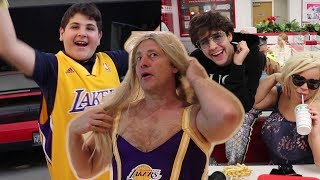Download SURPRISING BROTHER WITH LAKERS TICKETS!! (EMOTIONAL) Video