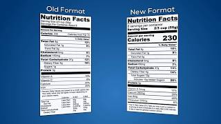 Download New U.S. FDA Food Labeling Rules Video