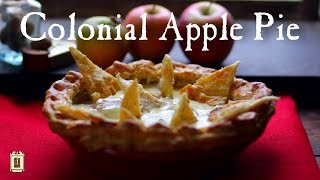 Download 1773 Apple Pie - One of the Earliest Recipes Video