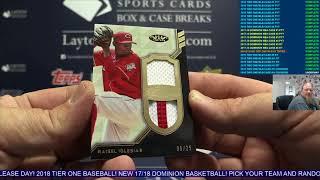 Download 2018 Topps Tier One Baseball 2 Box Break For Sherry S Video