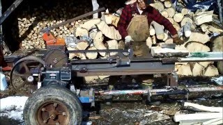 Download Kinetic log splitter 2016 Video