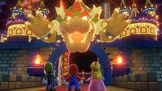 Download Super Mario 3D World - All Final Castles (3 Player) Video