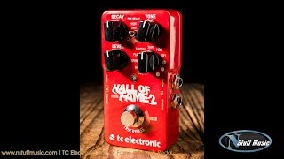 Download TC Electronic Hall Of Fame 2 Reverb Pedal - In-Depth Review Video