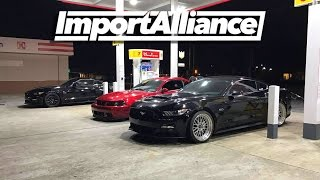 Download Import Alliance 2017 Day 1 - Prep and Drive - Mustangs Crash Import Alliance Video
