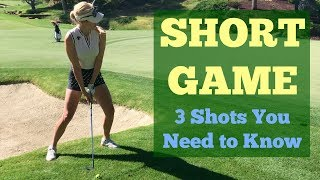 Download Short Game Shots You Need to Know // Golf Tips with Paige Spiranac // Shadow Creek Golf Course Video