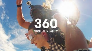 Download Skydiving in 360 - Virtual Reality Video