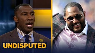 Download Shannon Sharpe reacts to Ray Lewis' 'I wasn't protesting, I was praising God' comment | UNDISPUTED Video