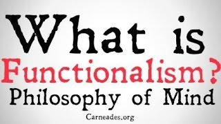 Download What is Functionalism? (Philosophy of Mind) Video