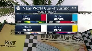 Download 2016 Vans World Cup: Round One, Heat 9 Video