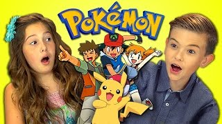 Download KIDS REACT TO POKEMON (Retro TV) Video