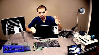 Download FIX your dark laptop screen! - UNDER $20! - (Inverter Board Replacement Tutorial) - FAQ's! Video