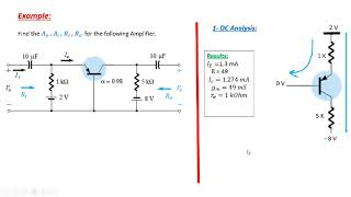 Download 6 Common Base BJT Amplifier-Solved Example Video