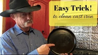 Download Easy Trick To Clean Cast Iron Video
