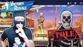Download I HACKED KID'S SKULL TROOPER ACCOUNT AND THIS HAPPENED... NASTIEST FORTNITE PRANK EVER! Video