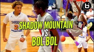 Download THEM SHADOW MOUNTAIN BOYS VS BOL BOL & Findlay Prep! UNDEFEATED RECORD On The Line! Video