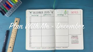 Download Plan With Me 01: December Video
