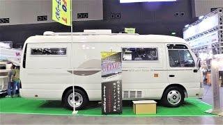 Download 럭셔리 미니 버스 캠핑카 - Small Bus Conversion ACS eterno Octavia M by RV BIGFOOT - Japan Camping Car Show 4 Video