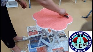 Download Ahşap Boyama - Kumlama Tekniği - Wood Painting - Sanding Technique Video
